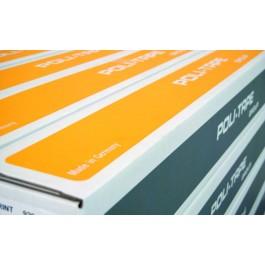 Poli-Lux 700. Μονομερικό διάφανο 80mic γυαλιστερό, με μόνιμη κόλλα. Με UV προστασία, ιδανικό και για πλαστικοποίηση