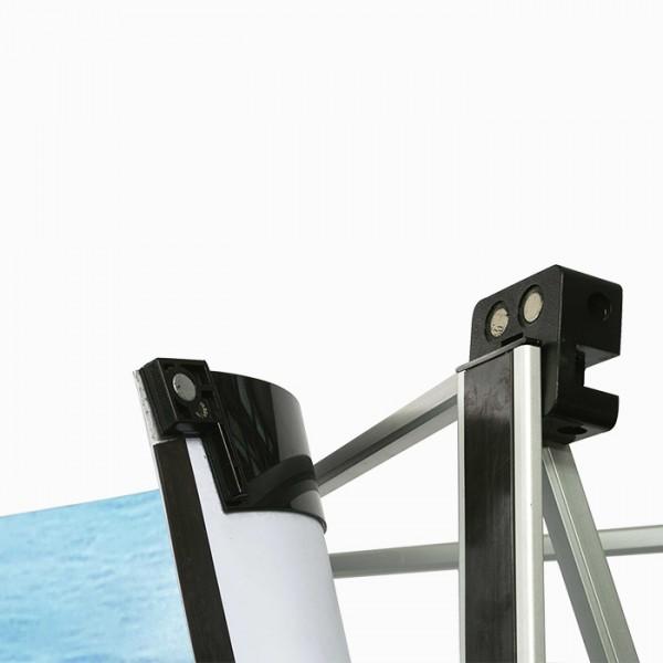 Μπανέλες για αράχνη Classic PopUp. Μεταλλικά προφίλ 67cm,70cm και 75cm πλάτος που προσαρμόζονται στο πτυσσόμενο σύστημα αράχνης και εκεί μπορεί να μαγνητίσει η εκτύπωση.