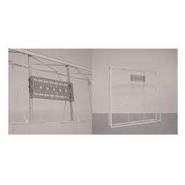 Βάση επίπεδης οθόνης/τηλεόρασης για SEG PopUp. Προσαρμόζεται στο σύστημα αράχνης για μοντέρνα & interactive παρουσίαση.